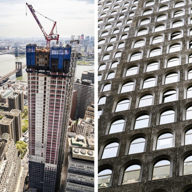 David Adjaye's first NYC skyscraper in FiDi tops out at 800 feet