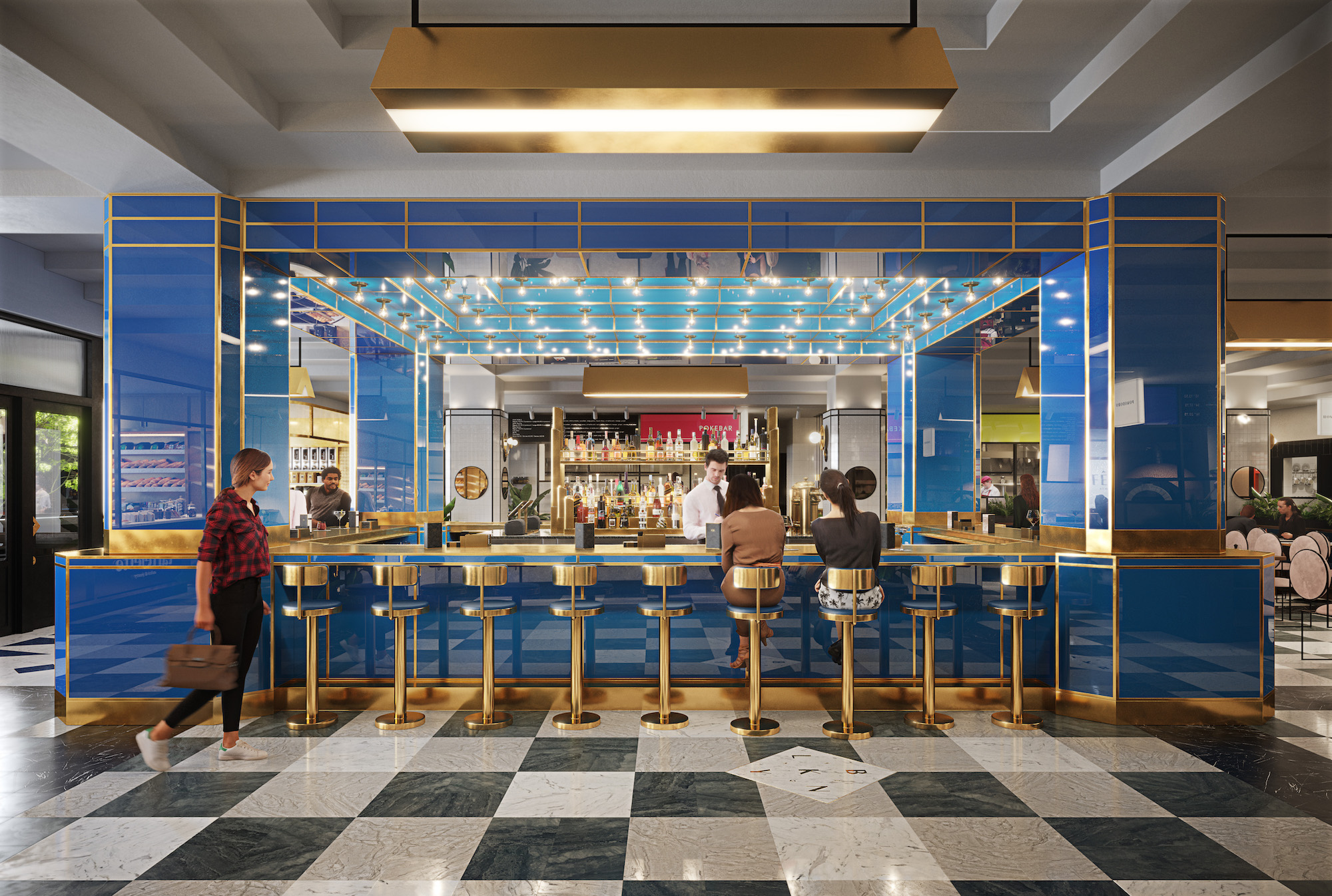 Art Deco-inspired food hall opening in Midtown will offer Filipino