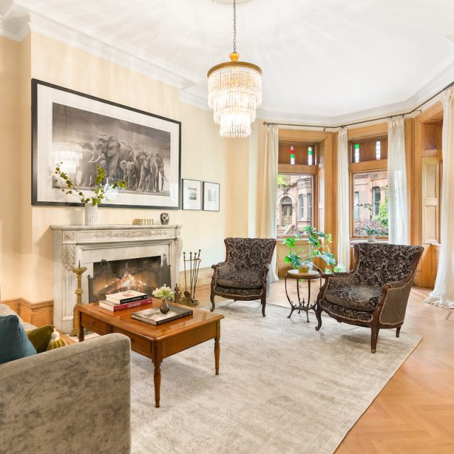 This $6M Park Slope mansion is as stunning inside as it is outside, from finished basement to green roof