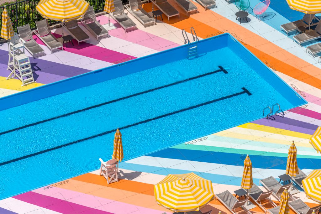 Manhattan Park Pool Club, Roosevelt Island, K&Co, Pliskin Architecture