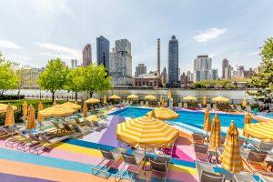 Manhattan Park Pool Club, Roosevelt Island, K&Co, Pliskin Architecture
