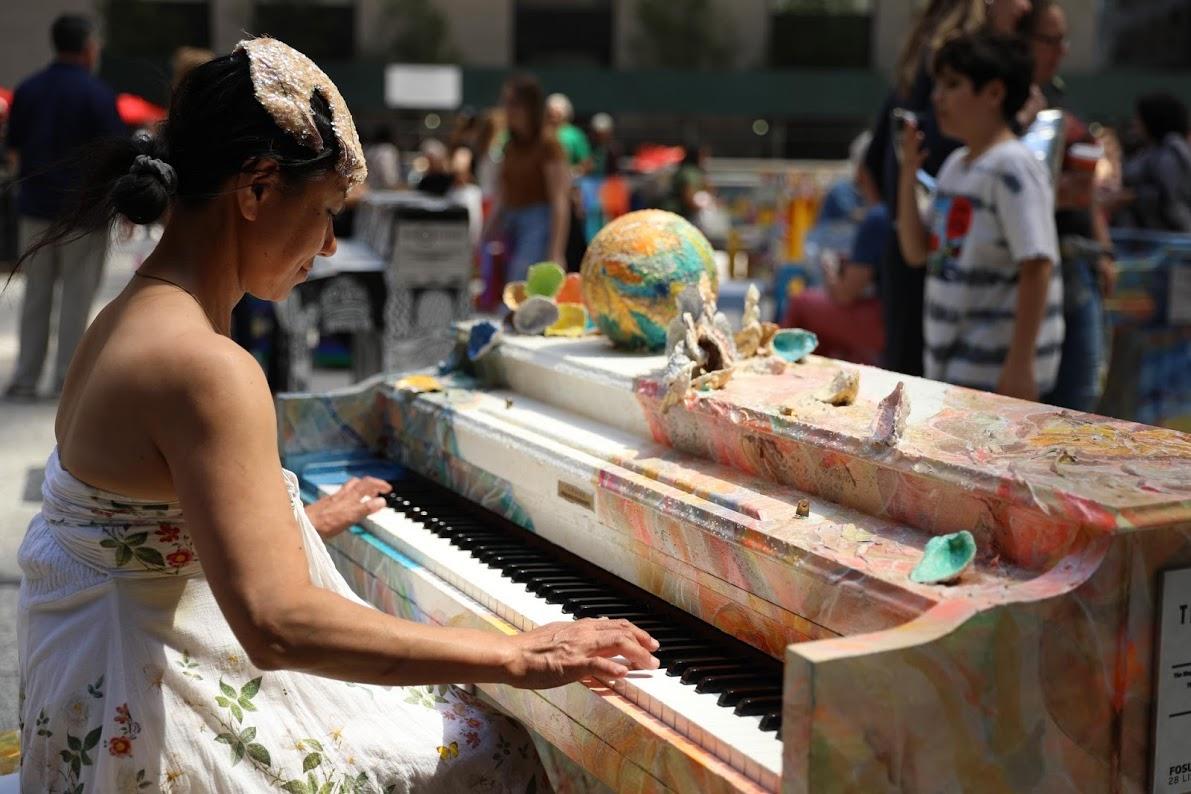 50 colorful public pianos pop up across NYC | 6sqft