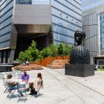 the high line, the spur, the plinth, public art, nyc parks