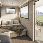 collective retreats, outlook shelter, governors island, getaways, camping, glamping