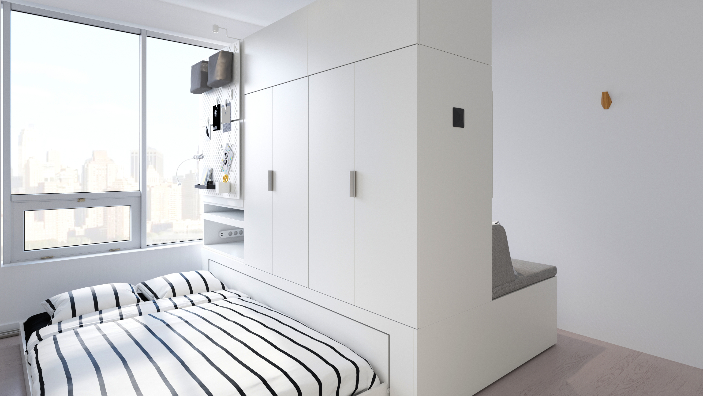 ikea, rognan, robotic furniture, small space living, ori