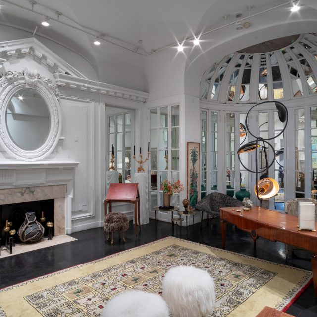 Inside the Elizabeth Collective, Elizabeth Taylor's former Midtown mansion turned arts collective