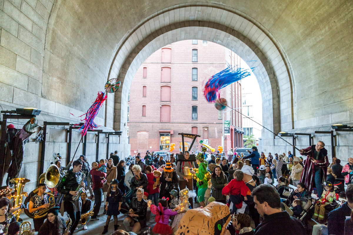 Dumbo archway, dumbo, public spaces