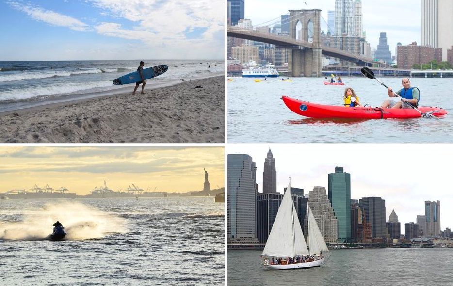 Kayaking, sailing, jet skiing, and more: NYC's 8 best water activities
