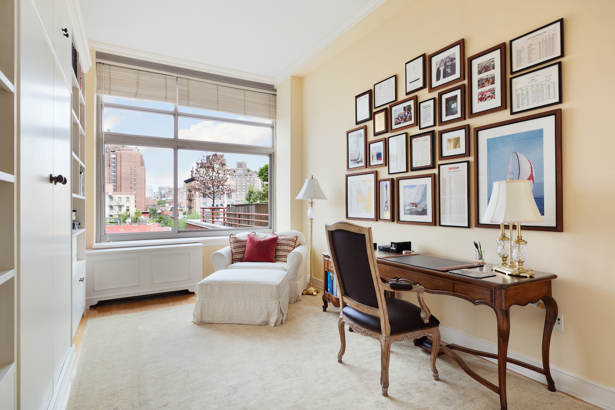 Asking $7M, this sprawling West Village condo has a two-level, three