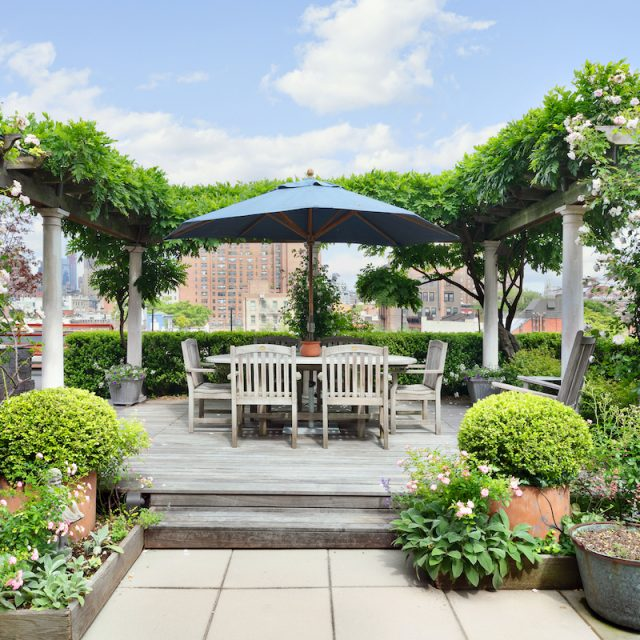 Asking $7M, this sprawling West Village condo has a two-level, three-season sky garden