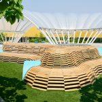 Nest, tri-lox, playground, design, children's museum