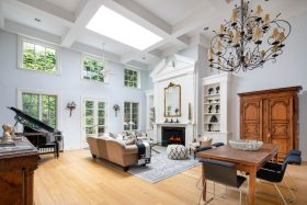 313 west 20th street, chelsea, carriage houses, cool listings, garage, outdoor spaces