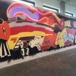mural, graffiti, street art