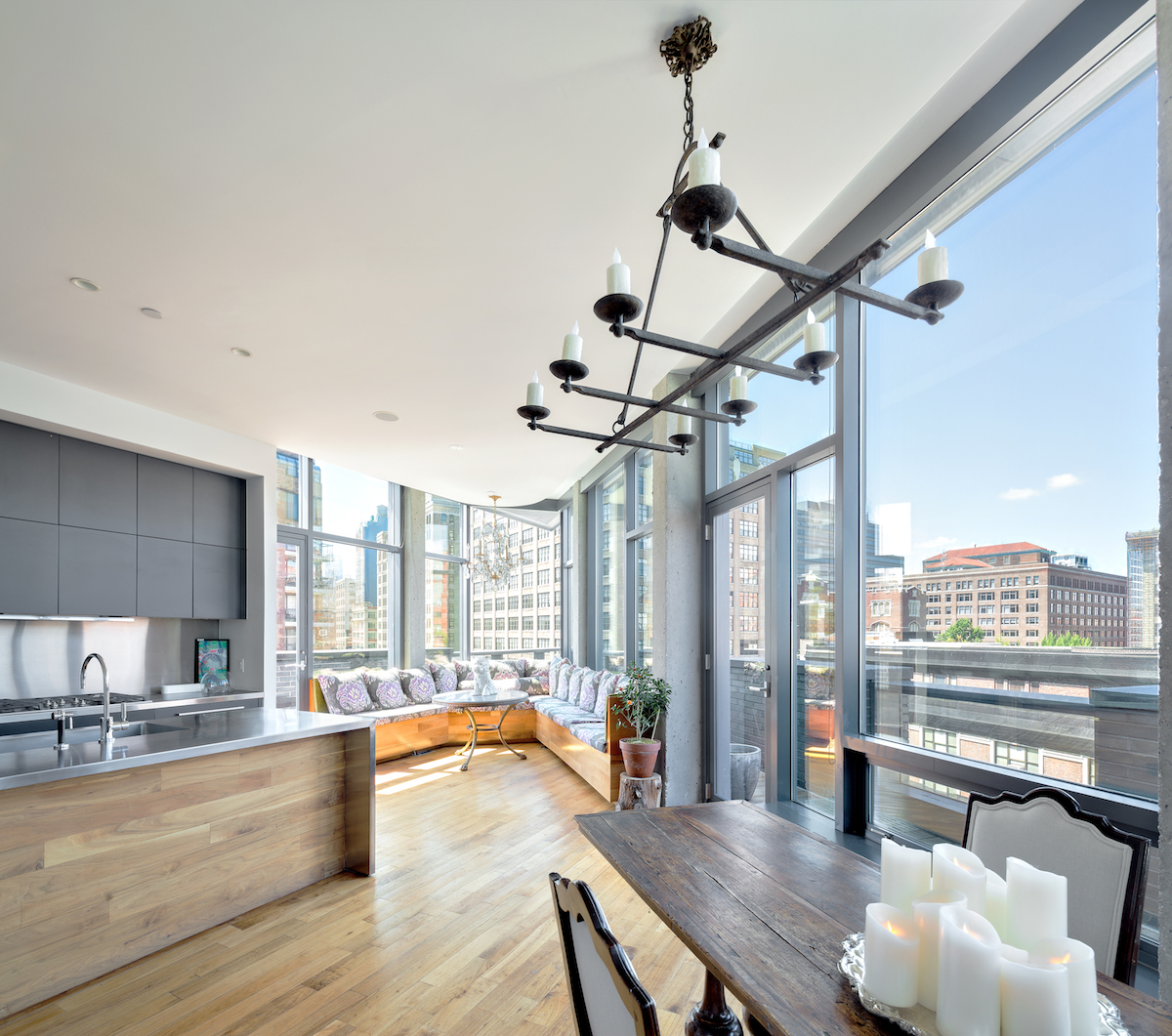 Renting Nyc: Rent This Unusual Slice Of Village Penthouse Living For