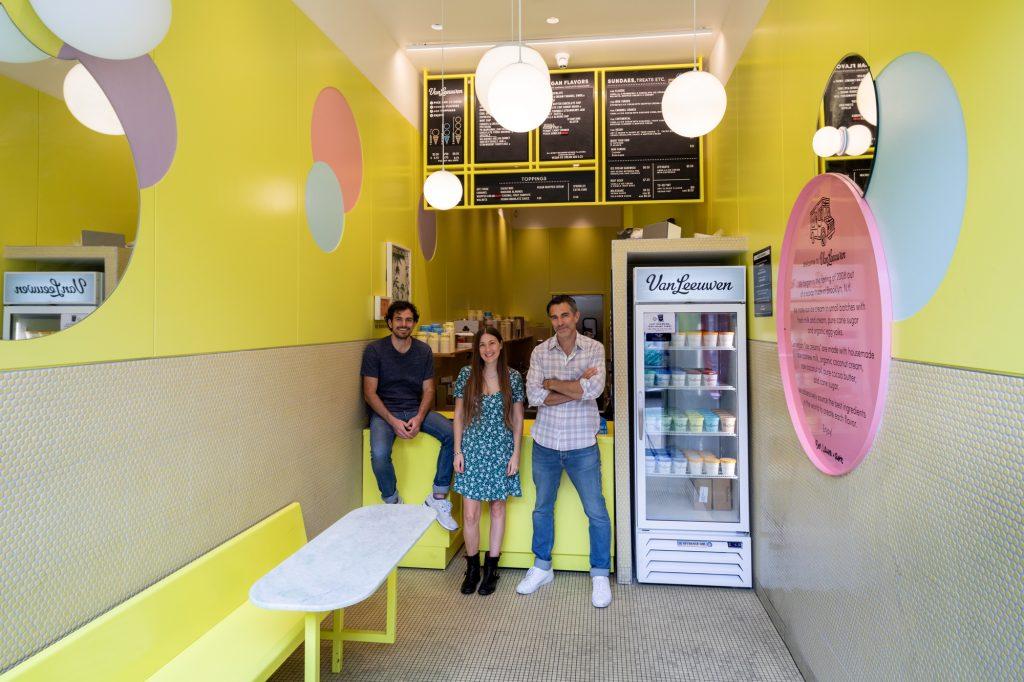 ice cream, ice cream shop, van leeuwen
