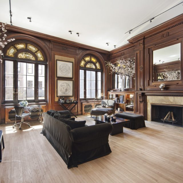$4M landmarked Upper East Side mansion has Beaux Arts style and Tiffany Glass accents