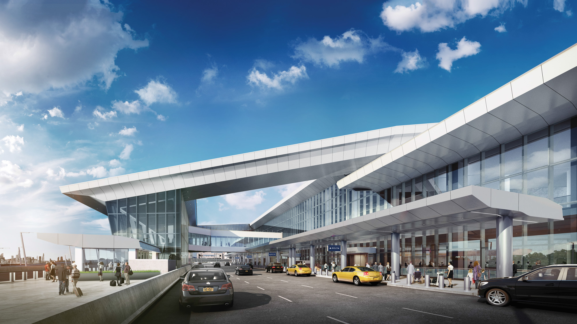 First new Delta concourse will open next week at LaGuardia ...