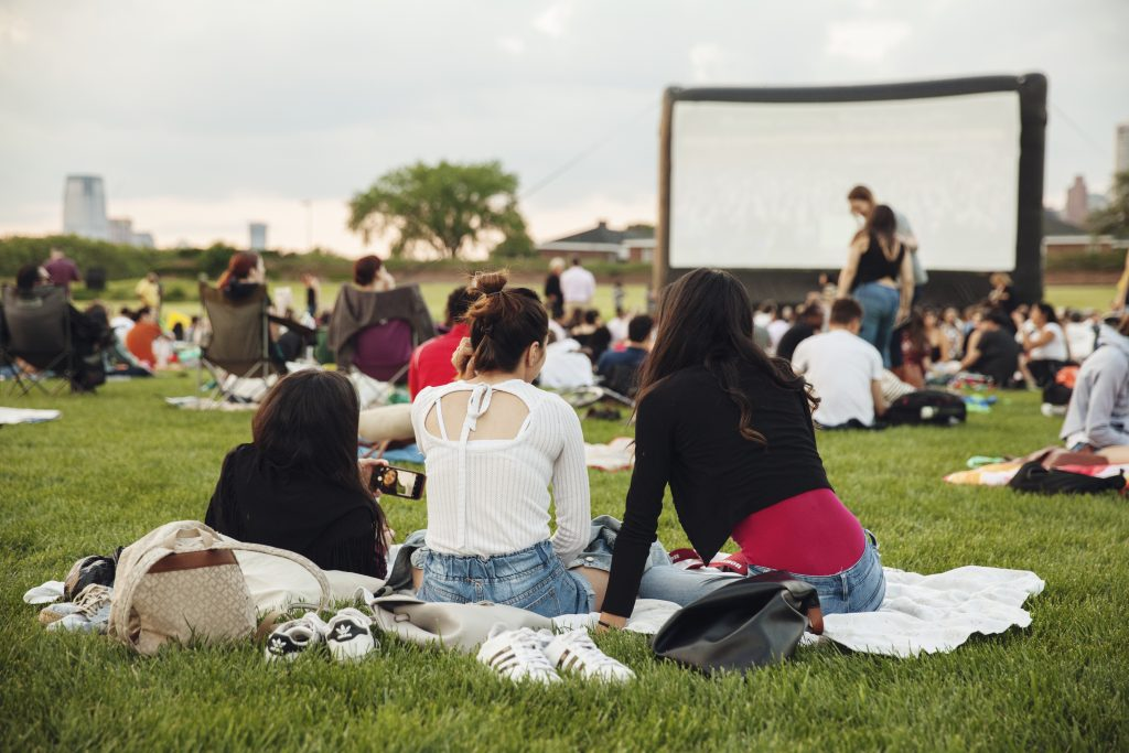 movie, movie night, governors island