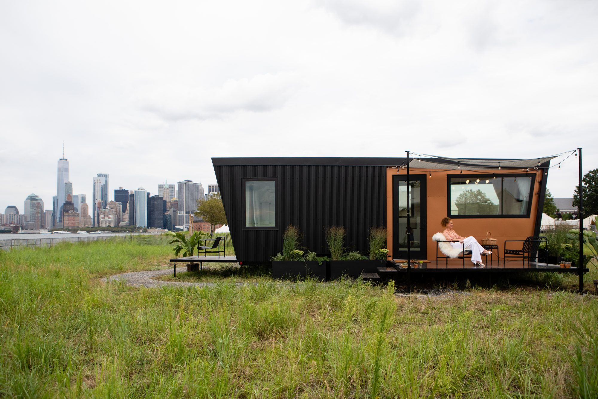 For $595/night, you can go glamping in a 300-square-foot