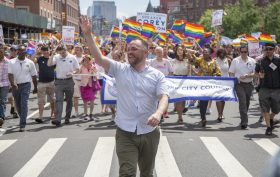 corey johnson, pride, lgbtq