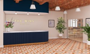 The wing, bryant park, coworking, midtown