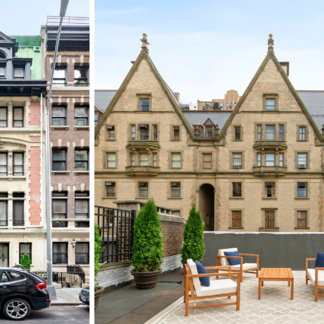 $18M Beaux-Arts mansion is an Upper West Side architectural icon with Dakota views