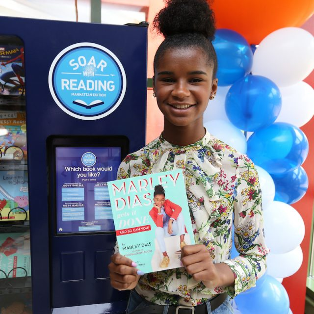 JetBlue's 'Soar with Reading' initiative brings free book vending machines for kids across NYC