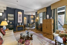 42 west 13th street, cool listings, greenwich village, co-ops, interiors