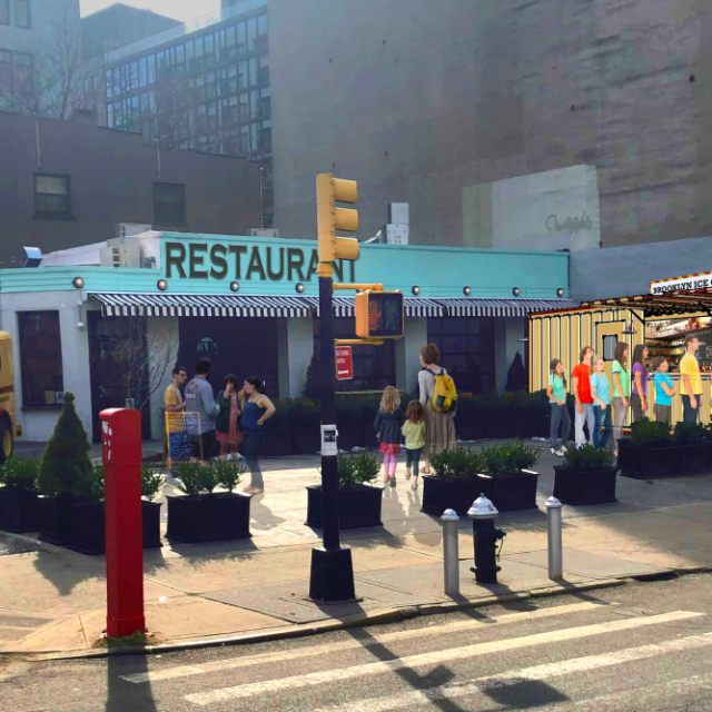 Brooklyn Ice Cream Factory proposes new stand just steps from old Fulton Ferry spot