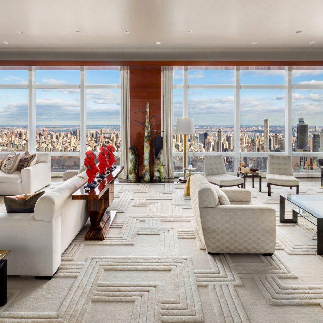 Billionaire developer Stephen Ross lists Time Warner Center penthouse for $75M