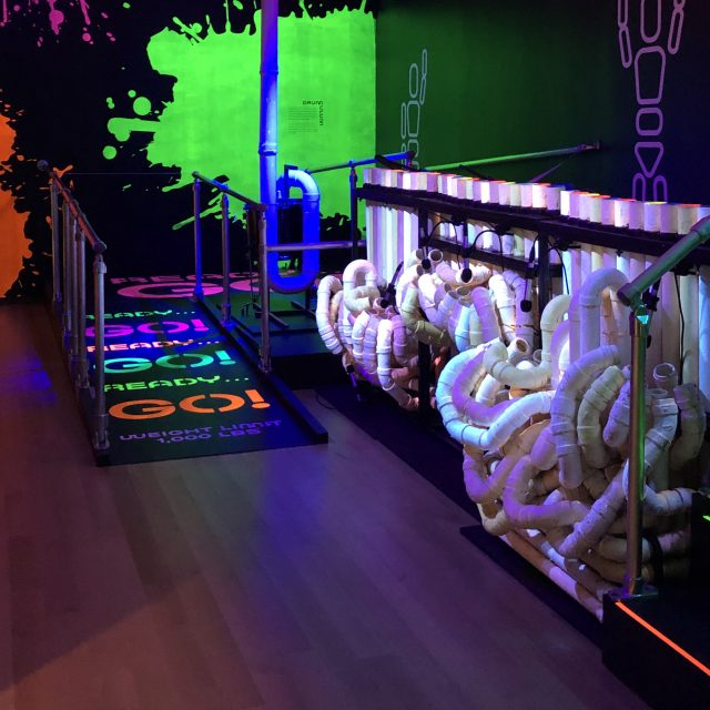 New Blue Man Group exhibit at MCNY lets visitors play their iconic pipes