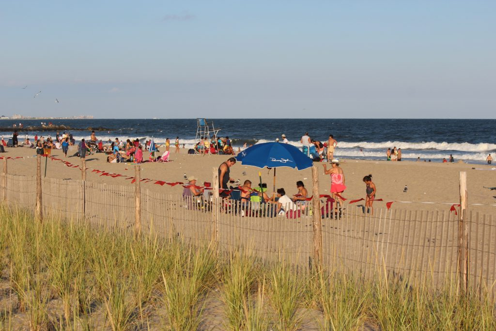 rockaways, beach, summer