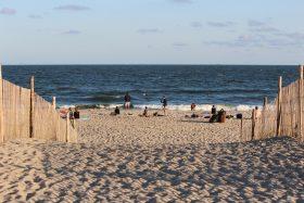 rockaway beach, sand, summer