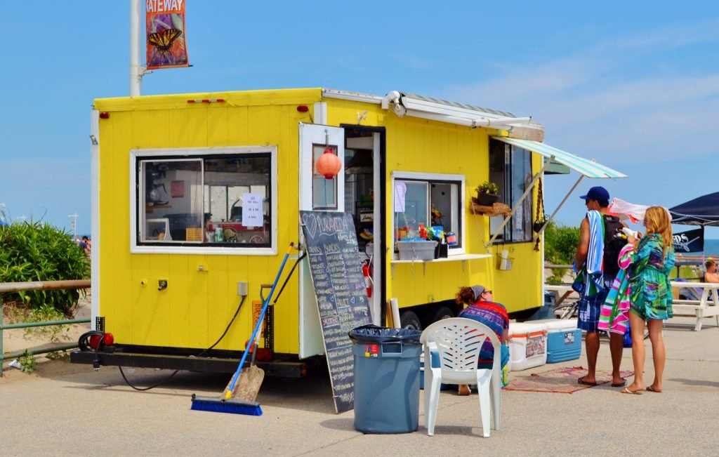 rockaways, food truck, summer