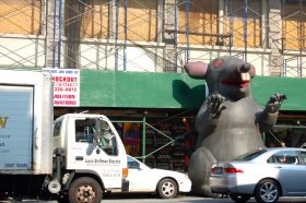 scabby the rat, scabby, nyc unions