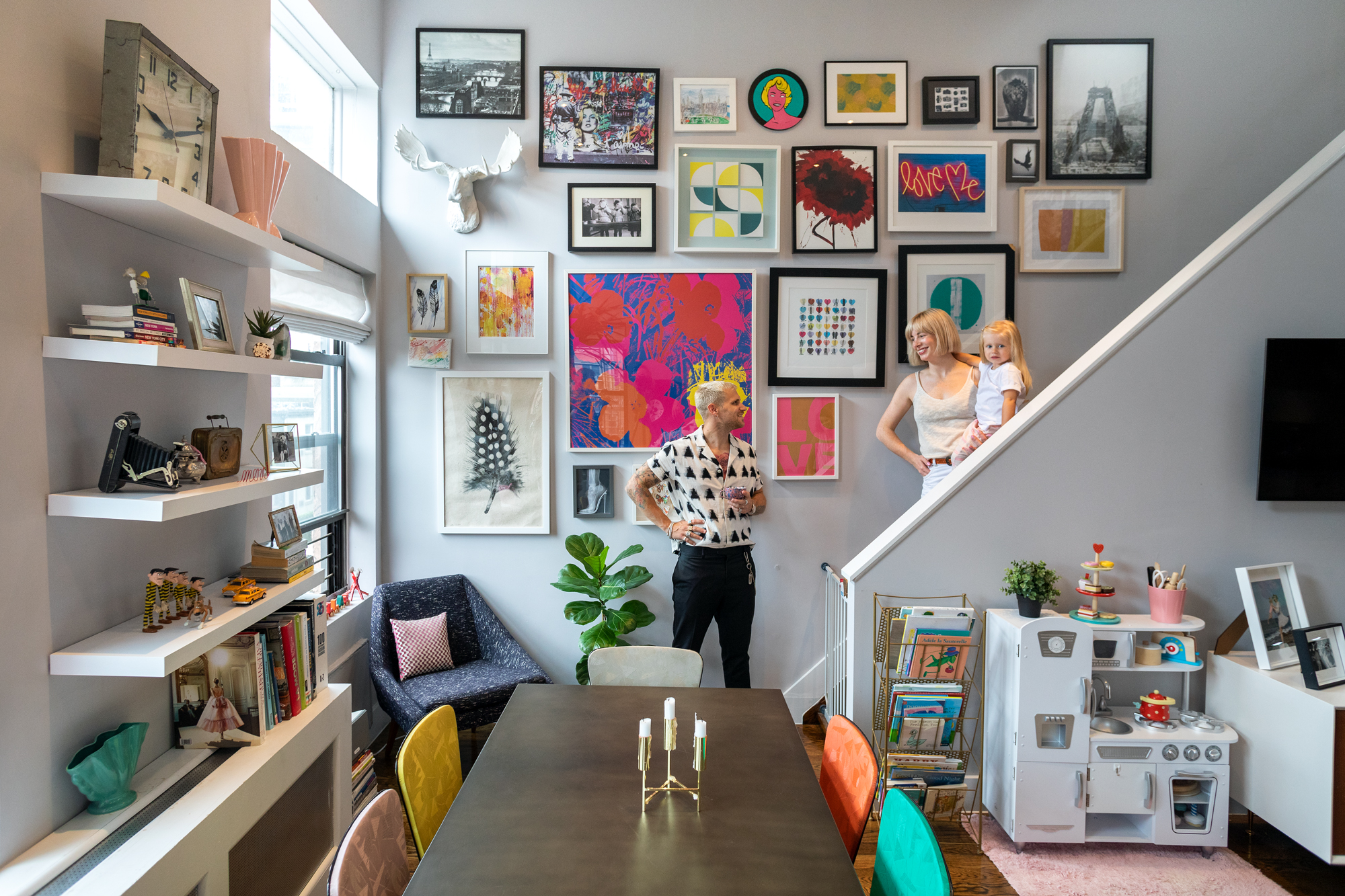 My 1,400sqft: A bright Chelsea duplex does live-work duty