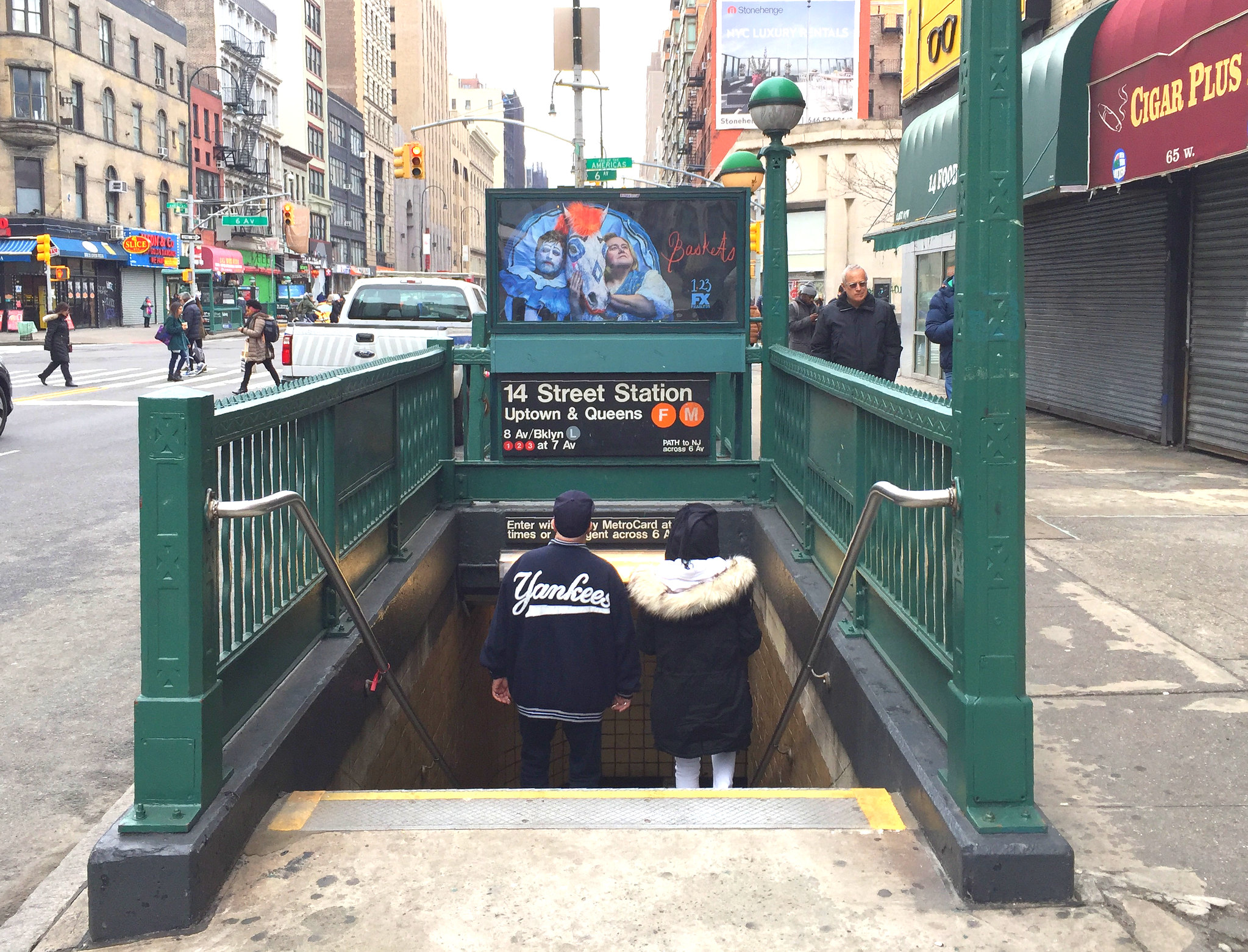 Image result for 14th Street subway complex