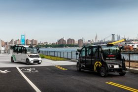 self-driving cars, optimus ride, brooklyn navy yard