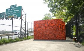 Keith Haring, Crack is Wack