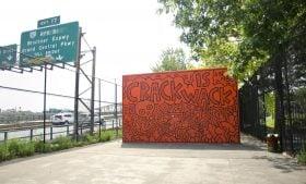 Keith Haring, Crack is Wack