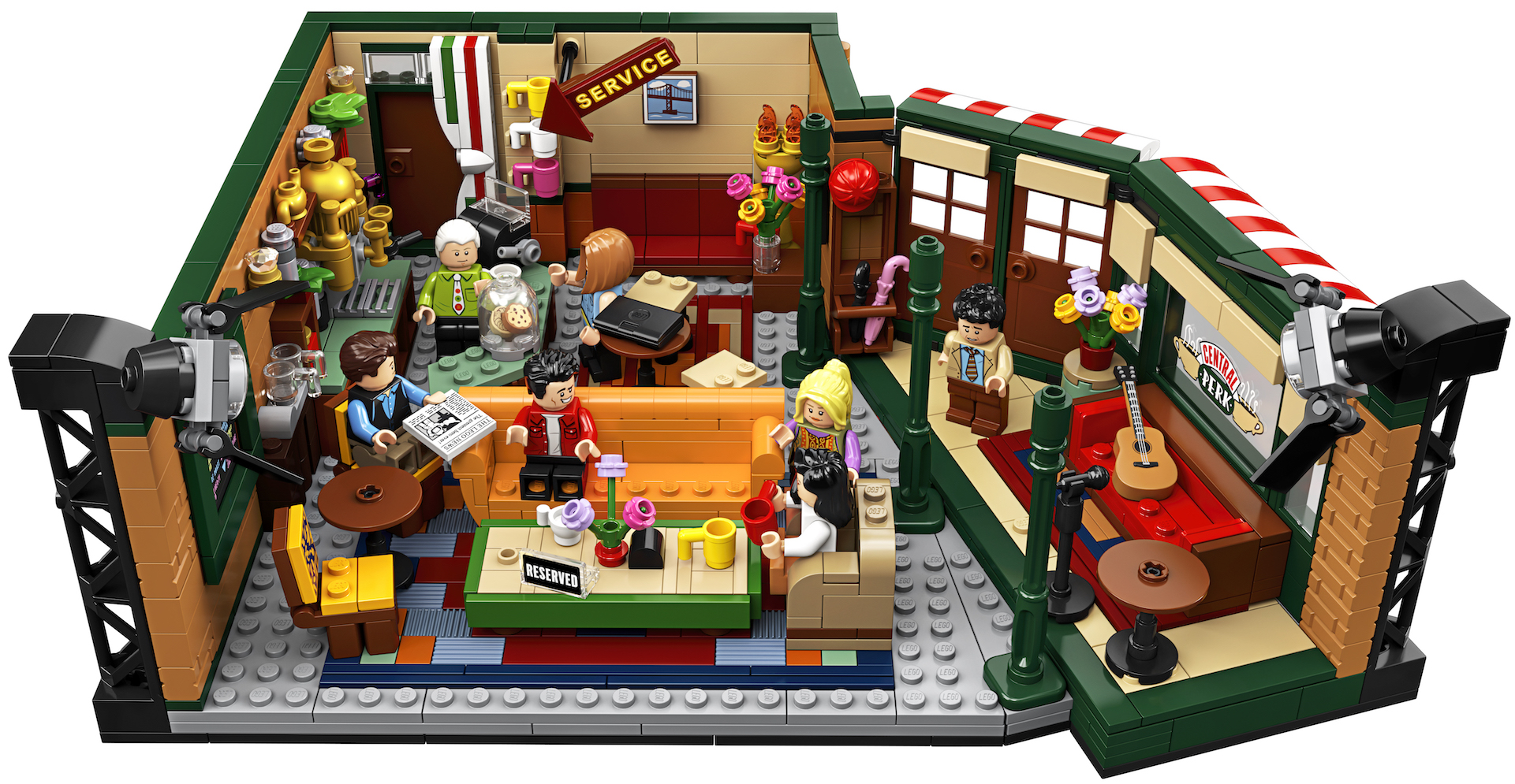 Lego celebrates the 25th anniversary of 'Friends' with