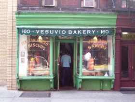 Vesuvio bakery, city bakery, birdbath, soho, mom and pops