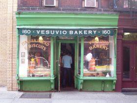 Vesuvio bakery, city bakery, birdbath, soho, mom and pops