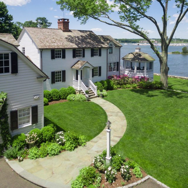 This waterfront Connecticut home comes with a private island for $6.25M