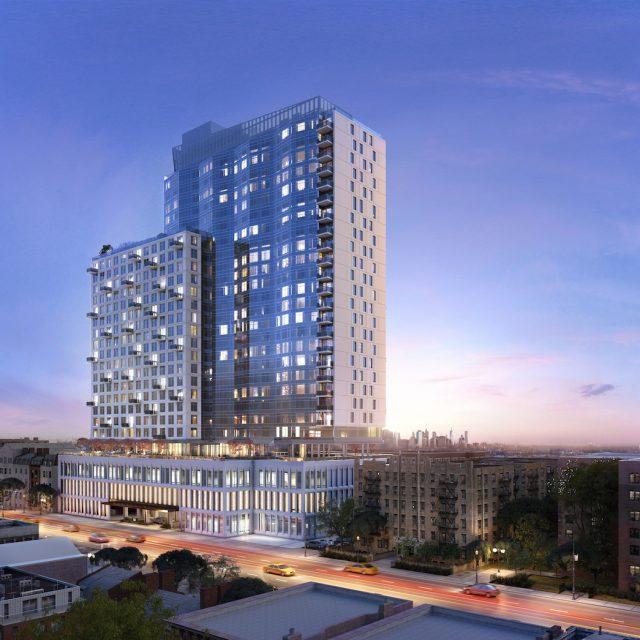 New renderings reveal Prospect-Lefferts tower with luxury amenities and Verrazano Bridge views