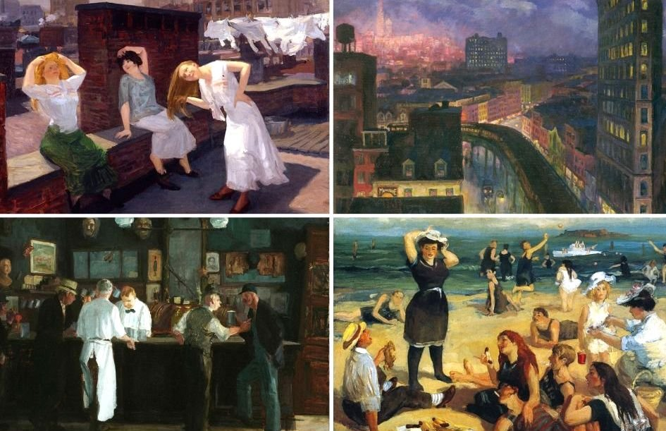 Elevated rails, rooftops, and McSorely's: How painter John Sloan captured 20th-century Manhattan