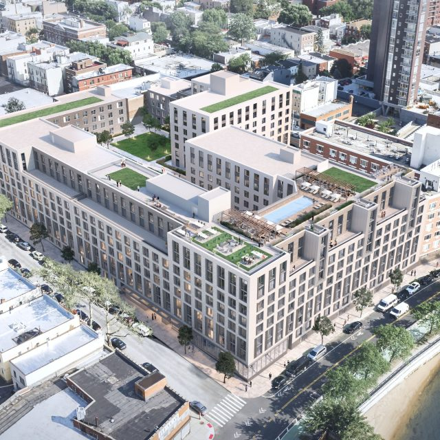 New 2.5-acre complex will bring 500+ rentals to the Astoria waterfront