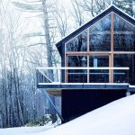 Hudson Woods, Lang Architecture, Catskills, Upstate, cool listings