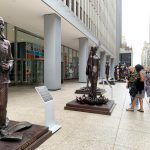 Statues for Equality, women statues, statues of women NYC, 1285 Avenue of the Americas, Gillie and Marc