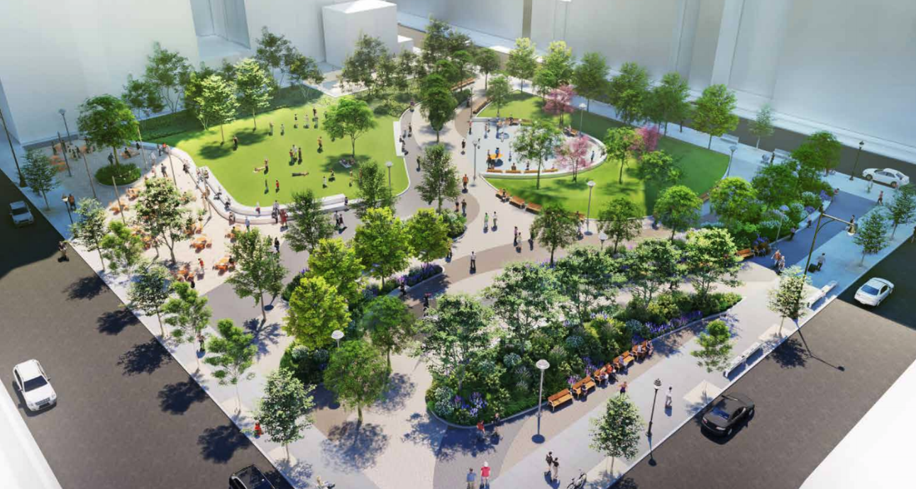 Updated design revealed for long-awaited Willoughby Square ...